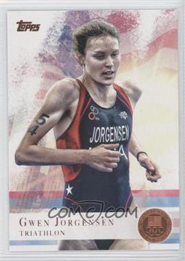 2012 Topps U.S. Olympic Team and Olympic Hopefuls - [Base] - Bronze #68 - Gwen Jorgensen