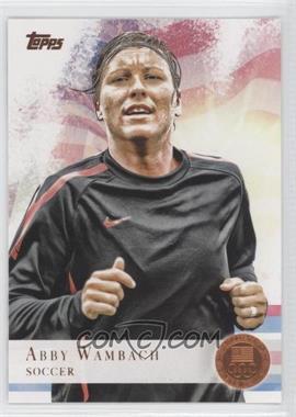 2012 Topps U.S. Olympic Team and Olympic Hopefuls - [Base] - Bronze #93 - Abby Wambach