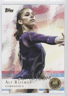 2012 Topps U.S. Olympic Team and Olympic Hopefuls - [Base] - Gold #15 - Aly Raisman