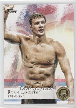 2012 Topps U.S. Olympic Team and Olympic Hopefuls - [Base] - Gold #17 - Ryan Lochte