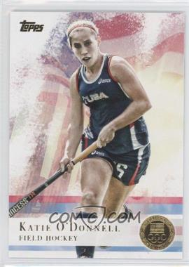 2012 Topps U.S. Olympic Team and Olympic Hopefuls - [Base] - Gold #23 - Katie O'Donnell