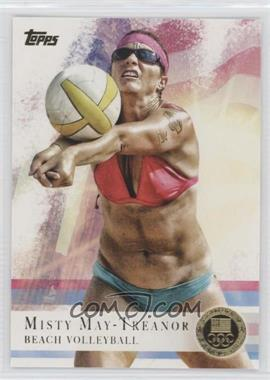2012 Topps U.S. Olympic Team and Olympic Hopefuls - [Base] - Gold #40 - Misty May-Treanor