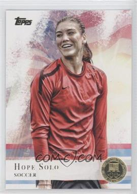 2012 Topps U.S. Olympic Team and Olympic Hopefuls - [Base] - Gold #50 - Hope Solo