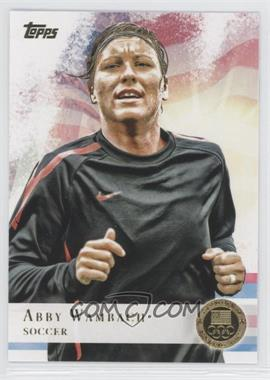 2012 Topps U.S. Olympic Team and Olympic Hopefuls - [Base] - Gold #93 - Abby Wambach