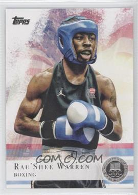 2012 Topps U.S. Olympic Team and Olympic Hopefuls - [Base] - Silver #2 - Rau'Shee Warren