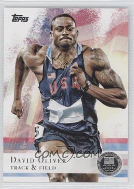2012 Topps U.S. Olympic Team and Olympic Hopefuls - [Base] - Silver #21 - David Oliver