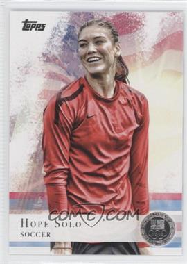 2012 Topps U.S. Olympic Team and Olympic Hopefuls - [Base] - Silver #50 - Hope Solo