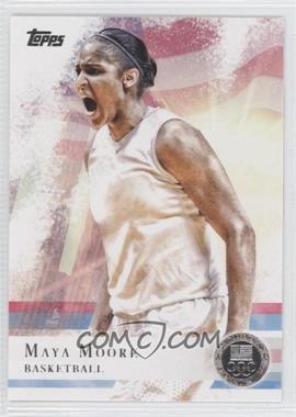 2012 Topps U.S. Olympic Team and Olympic Hopefuls - [Base] - Silver #60 - Maya Moore
