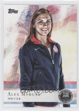 2012 Topps U.S. Olympic Team and Olympic Hopefuls - [Base] - Silver #90 - Alex Morgan