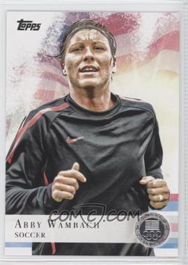 2012 Topps U.S. Olympic Team and Olympic Hopefuls - [Base] - Silver #93 - Abby Wambach
