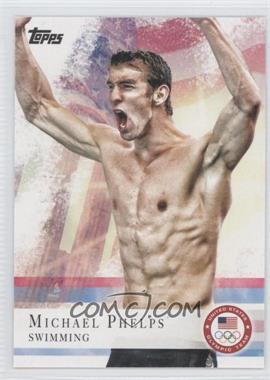 2012 Topps U.S. Olympic Team and Olympic Hopefuls - [Base] #100 - Michael Phelps