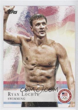 2012 Topps U.S. Olympic Team and Olympic Hopefuls - [Base] #17 - Ryan Lochte