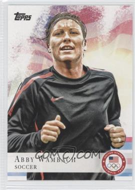 2012 Topps U.S. Olympic Team and Olympic Hopefuls - [Base] #93 - Abby Wambach