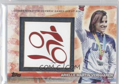 2012 Topps U.S. Olympic Team and Olympic Hopefuls - Commemorative Olympic Games Event Pin #ELP-AMV - Arielle Martin Verhaaren
