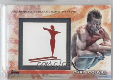 2012 Topps U.S. Olympic Team and Olympic Hopefuls - Commemorative Olympic Games Event Pin #ELP-CC - Chris Colwill