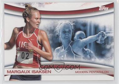 2012 Topps U.S. Olympic Team and Olympic Hopefuls - Games of the XXX Olympiad #OLY-14 - Margaux Isaksen