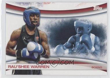2012 Topps U.S. Olympic Team and Olympic Hopefuls - Games of the XXX Olympiad #OLY-5 - Rau'Shee Warren