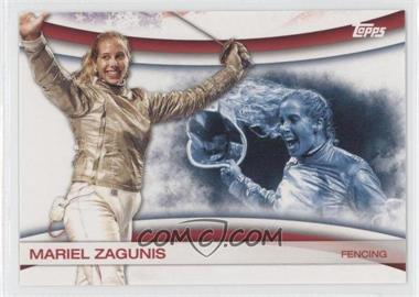 2012 Topps U.S. Olympic Team and Olympic Hopefuls - Games of the XXX Olympiad #OLY-9 - Mariel Zagunis