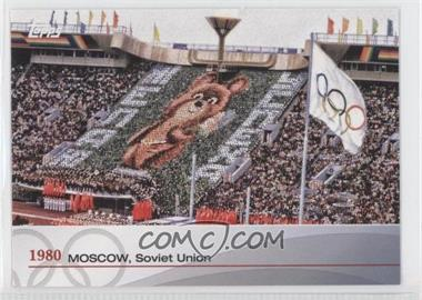 2012 Topps U.S. Olympic Team and Olympic Hopefuls - Heritage of the Games #OH-XXII - 1980 - Moscow, Soviet Union