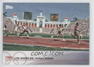 2012 Topps U.S. Olympic Team and Olympic Hopefuls - Heritage of the Games #OH-XXIII - 1984 - Los Angeles, United States