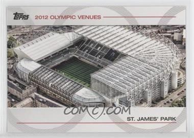2012 Topps U.S. Olympic Team and Olympic Hopefuls - Olympic Venues #SOV-29 - St. James' Park