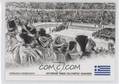 2012 Topps U.S. Olympic Team and Olympic Hopefuls - Opening Ceremony #OC-1 - Athens 1896 Olympic Games