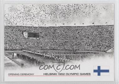 2012 Topps U.S. Olympic Team and Olympic Hopefuls - Opening Ceremony #OC-12 - Helsinki 1952 Olympic Games