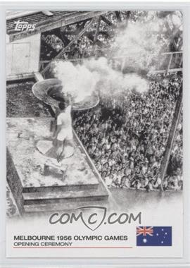 2012 Topps U.S. Olympic Team and Olympic Hopefuls - Opening Ceremony #OC-13 - Melbourne 1956 Olympic Games