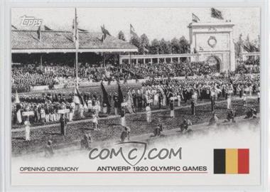 2012 Topps U.S. Olympic Team and Olympic Hopefuls - Opening Ceremony #OC-6 - Antwerp 1920 Olympic Games