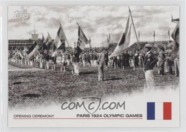 2012 Topps U.S. Olympic Team and Olympic Hopefuls - Opening Ceremony #OC-7 - Paris 1924 Olympic Games
