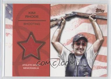 2012 Topps U.S. Olympic Team and Olympic Hopefuls - Relics - Bronze #OR-KR - Kim Rhode /75