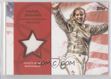 2012 Topps U.S. Olympic Team and Olympic Hopefuls - Relics - Bronze #OR-MZ - Mariel Zagunis /75