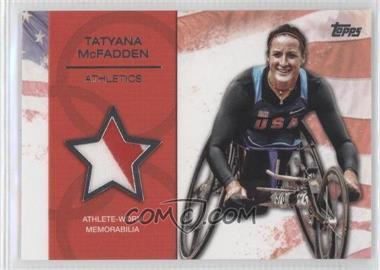 2012 Topps U.S. Olympic Team and Olympic Hopefuls - Relics - Silver #OR-TM - Tatyana McFadden /50