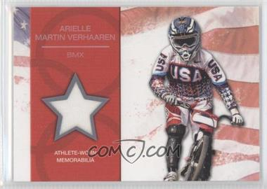 2012 Topps U.S. Olympic Team and Olympic Hopefuls - U.S. Olympic Team Relic #OR-AMV - Arielle Martin Verhaaren