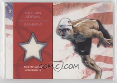 2012 Topps U.S. Olympic Team and Olympic Hopefuls - U.S. Olympic Team Relic #OR-NA - Nathan Adrian