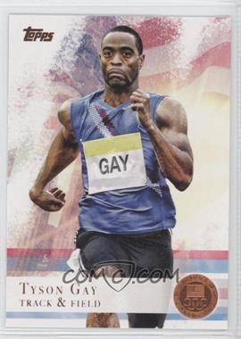 2012 Topps U.S. Olympic Team and Olympic Hopefuls [???] #10 - Tyson Gay