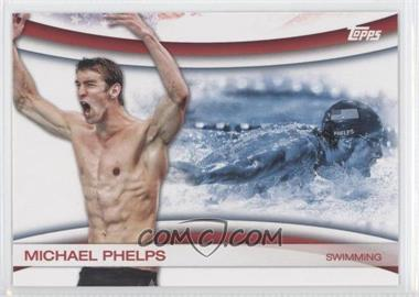 2012 Topps U.S. Olympic Team and Olympic Hopefuls [???] #OLY-18 - Michael Phelps