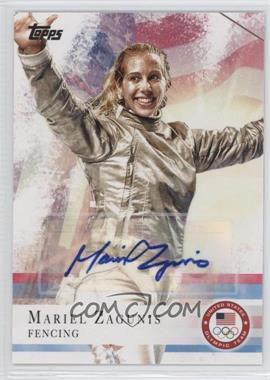 2012 Topps U.S. Olympic Team and Olympic Hopefuls Autographs [Autographed] #32 - Mariel Zagunis