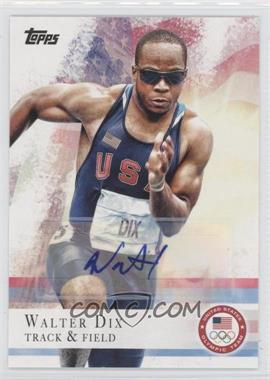 2012 Topps U.S. Olympic Team and Olympic Hopefuls Autographs [Autographed] #4 - Walter Dix