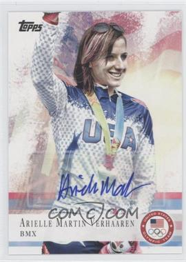 2012 Topps U.S. Olympic Team and Olympic Hopefuls Autographs [Autographed] #67 - Arielle Martin Verhaaren