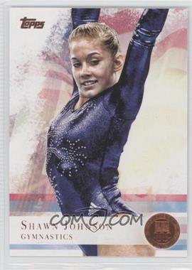 2012 Topps U.S. Olympic Team and Olympic Hopefuls Bronze #1 - Shawn Johnson