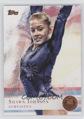 2012 Topps U.S. Olympic Team and Olympic Hopefuls Bronze #1 - Shawn Johnson