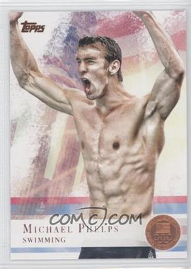 2012 Topps U.S. Olympic Team and Olympic Hopefuls Bronze #100 - Michael Phelps