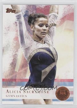 2012 Topps U.S. Olympic Team and Olympic Hopefuls Bronze #11 - Alicia Sacramone