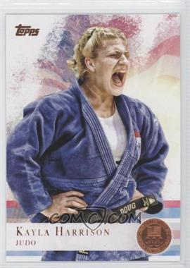 2012 Topps U.S. Olympic Team and Olympic Hopefuls Bronze #13 - Kayla Harrison