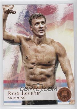 2012 Topps U.S. Olympic Team and Olympic Hopefuls Bronze #17 - Ryan Lochte