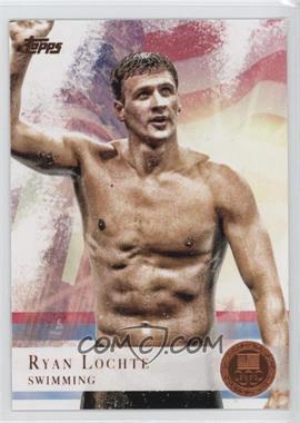2012 Topps U.S. Olympic Team and Olympic Hopefuls Bronze #17 - Ryan Lochte