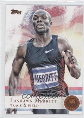 2012 Topps U.S. Olympic Team and Olympic Hopefuls Bronze #22 - LaShawn Merritt