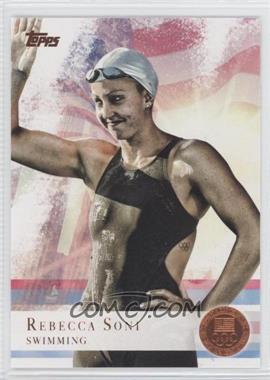 2012 Topps U.S. Olympic Team and Olympic Hopefuls Bronze #26 - Rebecca Soni