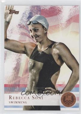 2012 Topps U.S. Olympic Team and Olympic Hopefuls Bronze #26 - Rebecca Soni